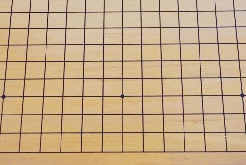 碁盤の目 碁盤 囲碁 五目ならべ 趣味 娯楽 楽しみ 仲間 休憩 昼休み 一局 広がり 星 要 急所 格子 直角 背景 平行 垂直