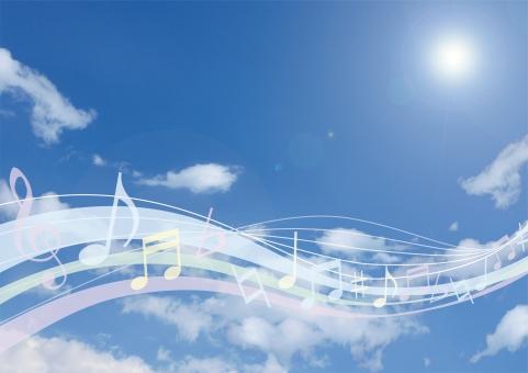 風 空 自然 波 ウェーブ 演奏 音楽 自然 環境 ハーモニー バック 背景 青 ブルー 演奏会 発表会 流れ 夏 春 抽象的 卒業 入学 卒園 グラデーション グラフィック 透明感 4月 テクスチャー テクスチャ 太陽