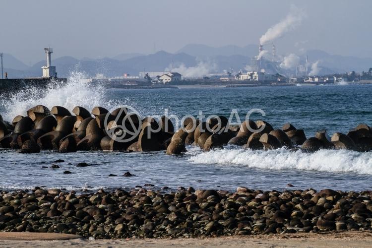 海と波の写真
