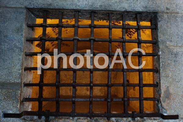 牢獄の格子の写真