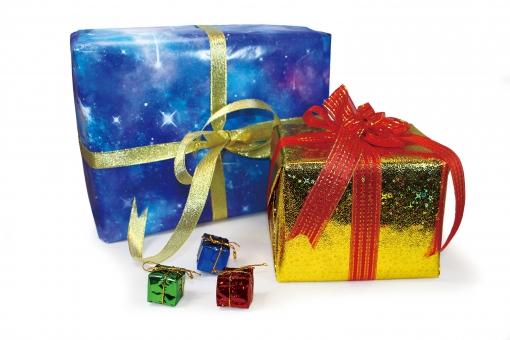 プレゼント ラッピング1の写真