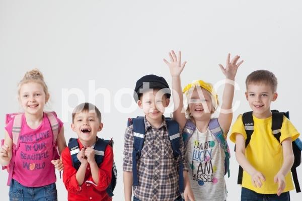外国人の子供達13の写真