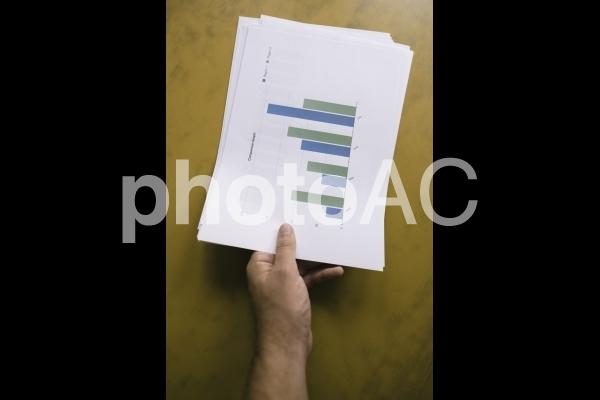 チャートグラフ・棒グラフ10の写真