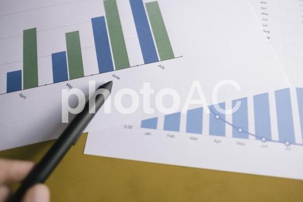 チャートグラフ・棒グラフ19の写真