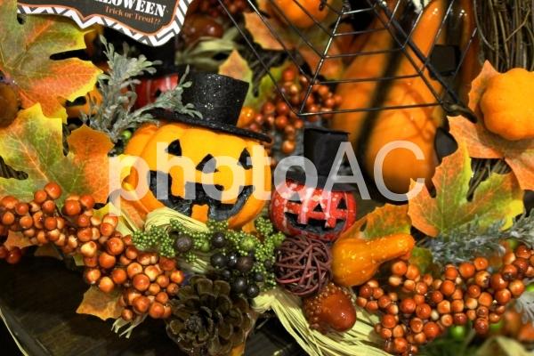 ハロウィンかぼちゃ1の写真