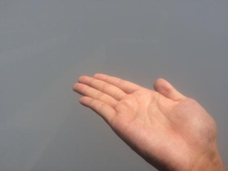 ハンド hand 掌 パーツ サイン 右手 指 フィンガー finger 手相 生命線 結婚線 血行 健康 血管 占い 手の平 ハンドパーツ てのひら 指紋 関節 手汗 皮膚 スキン 肌 ハンドケア 平手 美容 保湿 乾燥 肌色 ゆび て 手首 手荒れ 男性 手 手のひら 素手 素肌 手入れ 背景 灰色 どうぞ 案内 こちら こちらです おすすめ オススメ お薦め お勧め 乗せる 乗る