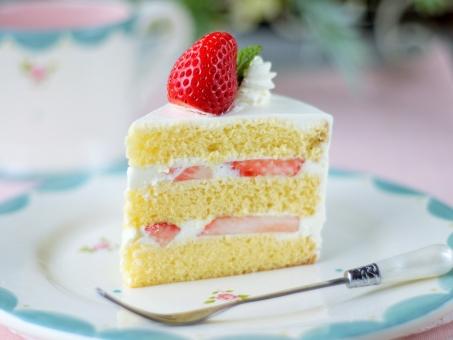 断面 手作り イチゴショート ケーキ クリスマス 誕生日 甘い いちご スイーツ クリスマスケーキ 可愛い 砂糖 卵