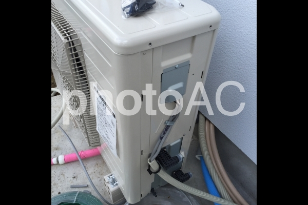 エコキュート配管工事の写真