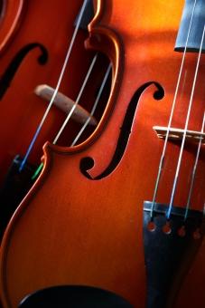 小物 楽器 弦楽器 バイオリン 趣味 音楽 コンサート 演奏会 作曲 スメタナ パガニーニ 木製 縦位置 オーケストラ 室内楽