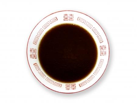 ラーメン鉢 スープだけ 麺なし【ブラック系・濃茶系・黒系】の写真