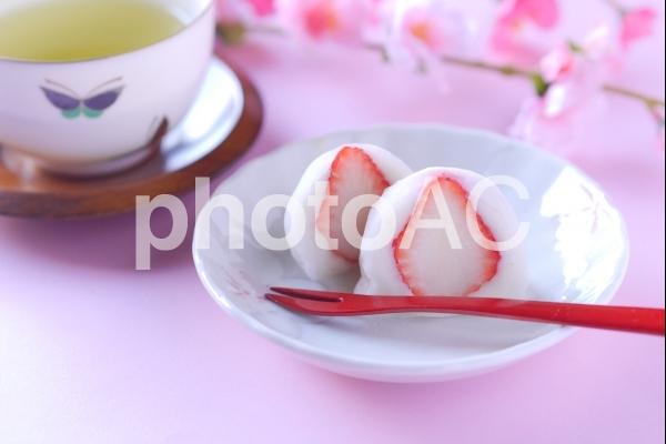 苺大福の写真