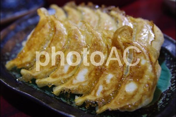 焼餃子の写真