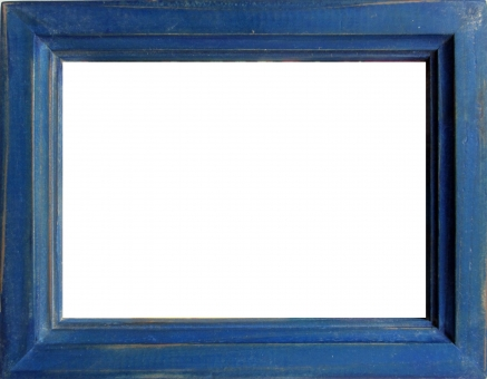 フレーム 枠 フォト 素材 青 絵画 ナチュラル レトロ 看板 額縁 切り抜き 切抜