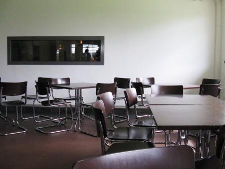 Bauhaus デッサウ ドイツ 建物 建築 学校 校内
