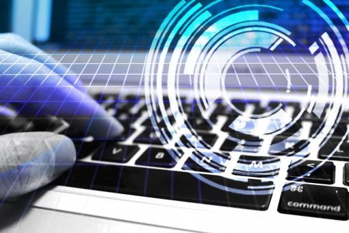 情報セキュリティ2 青の写真