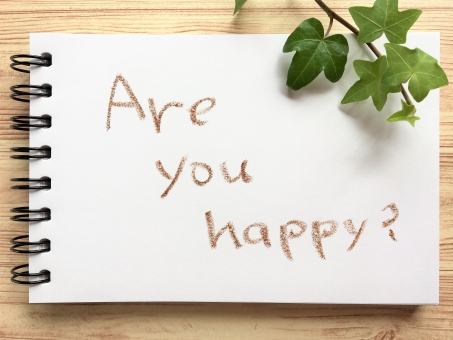 Are you happy?の写真