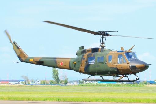 自衛隊機 陸上自衛隊 ミリタリー ヘリコプター UH-1 軍用機 防衛省