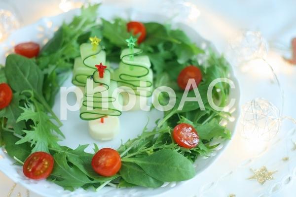 クリスマス料理の写真