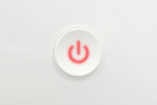起動 ボタン 再起動 スイッチ 電源 スタート 長押し パソコン コンピュータ PC Mac マッキントッシュ Windows 赤