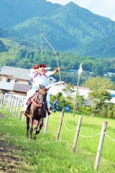 流鏑馬 日本 伝統 豊作祈願 歴史 馬 弓矢