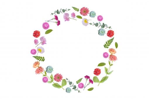 花リースに関する写真写真素材なら写真ac無料フリー