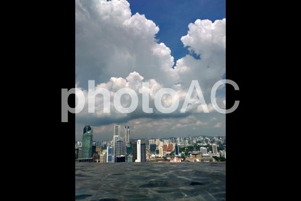 シンガポール マリーナベイサンズ インフィニティプールの写真