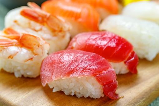 お寿司 まぐろの写真