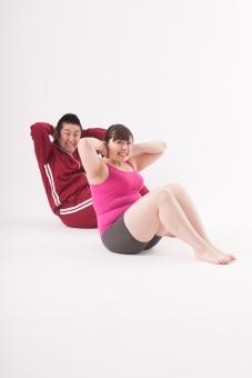 日本人 女性 男性 二名 二人 男女 カップル 友人 友達 仲間 ぽっちゃり 肥満 ダイエット 痩せる 痩せたい 目標 ビフォー アフター 太っている 太り気味 メタボ メタボリックシンドローム 脂肪 体系 ボディー 白バック 白背景 ジャージ 並ぶ 整列 体育座り 運動 ウォーミングアップ 座る トレーニング 筋肉 筋トレ 6パック シックスパック 腹筋運動 起き上がる 余裕 手を組む 手を後ろに組む 全身 mdjf020 mdjm017