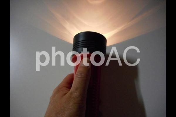 懐中電灯の写真