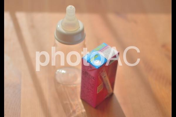 液体ミルクの写真