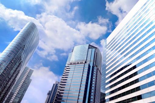ビジネス 高層ビル 品川の写真