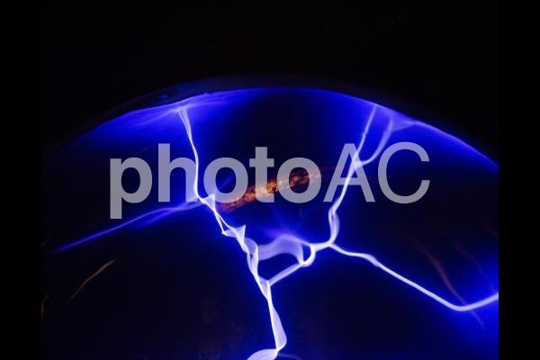 プラズマ放電の写真
