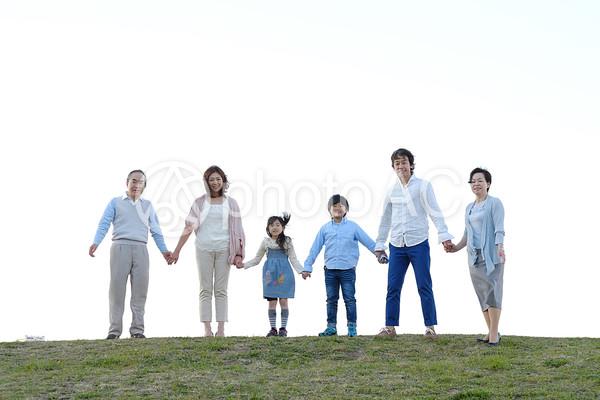 三世代家族30の写真