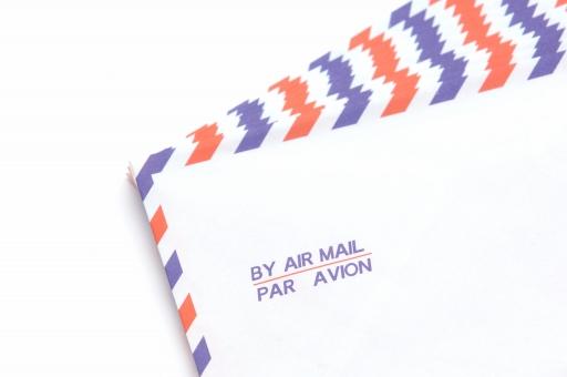 エアメール 郵便 手紙 国際郵便 レター ビジネス ビジネスレター 配達 郵送 配送 世界 海外 グローバル 発想 旅行 海外 外国 コミュニケーション 情報