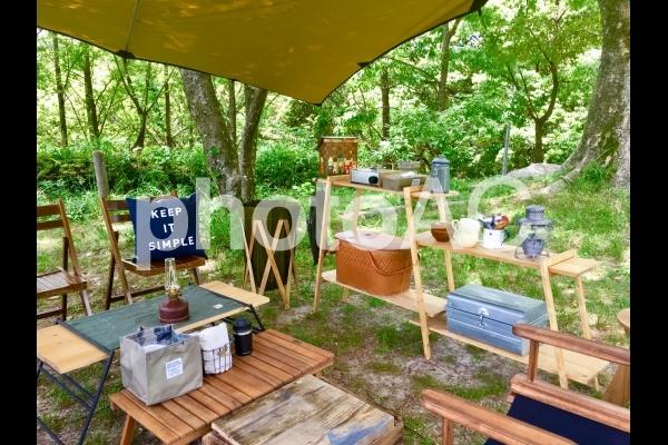 大自然キャンプの写真