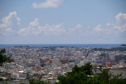 街 風景 市街 都市 都会 ビル 眺望 空 雲 オフィスビル 住宅 町並み 建物 眺め