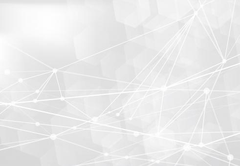 白のネットワークテクノロジー抽象背景素材の写真