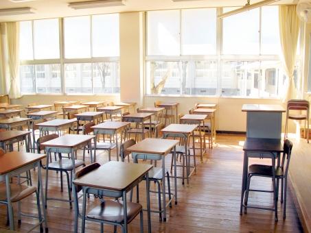 学校 教室 10の写真