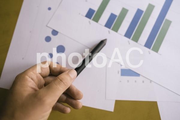 チャートグラフ・棒グラフ3の写真