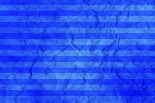 和紙 色紙 台紙 紙 ちぢれ ゴワゴワ 凸凹 テクスチャー 背景 背景画像 ファイバー 繊維 しわ くしゃくしゃ ストライプ シマ 縞模様 ボーダー 青 空色 ブルー セロリアンブルー 水色 水 空 スカイブルー ライトブルー