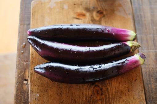 ナス なす 茄子 野菜 やさい ヤサイ 夏野菜 むらさき 紫 長茄子 なすび ナスビ