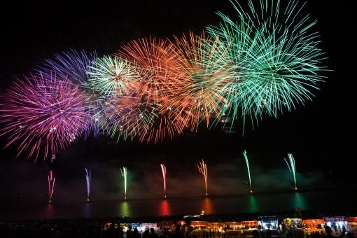 夏 祭 花火 イベント 空 夜空 綺麗 背景 なつ まつり はなび そら きれい summer festival fireworks event sky night beautiful landscape