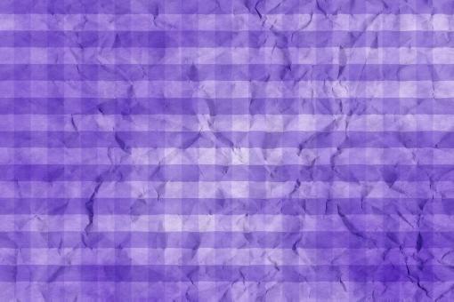和紙 色紙 台紙 紙 ちぢれ ゴワゴワ 凸凹 テクスチャー 背景 背景画像 ファイバー 繊維 しわ くしゃくしゃ チェック ギンガムチェック 格子 格子模様 青 ブルー 紫 薄紫 パープル ラベンダー