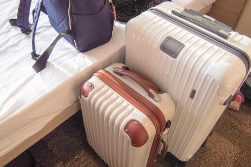 家族旅行 旅行 泊まり ホテル スーツケース キャスター キャリーバッグ 大人 子供 リュック 部屋 準備 荷物 ラゲッジ ゴールデンウィーク gw フライト ポーター ファミリー カップル 新婚 ベッド 連休 大型連休 家族サービス