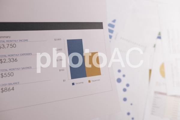 チャートグラフ・棒グラフ22の写真