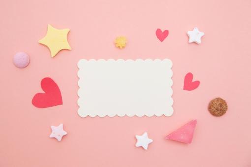 バレンタイン Valentine's Day バレンタインデイ バレンタインデー メッセージカード カード ピンク ハート 星 スター ポップ POP 可愛い かわいい カワイイ 女子 女の子 2月 2月14日 チョコレート チョコ プレゼント 贈り物 気持ち ラブ LOVE 本命 義理 友達 手紙 レター 行事 イベント