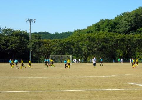 少年 少女 小学生 練習 運動場 試合 校庭 グランド ゴール チーム 子供 子ども クラブ 部 部活 15