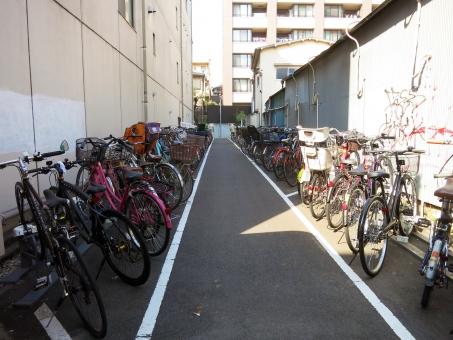 東京 品川区 tokyo 16 道路 ストリート 自転車 庶民的 生活感 自転車置き場 駐輪場 買物 駅前 商店街