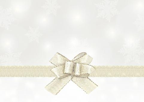 クリスマス 冬 背景 コピースペース テキストスペース テクスチャ 雪 雪の結晶 結晶 リボン ギフト プレゼント Christmas Xmas 12月 壁紙