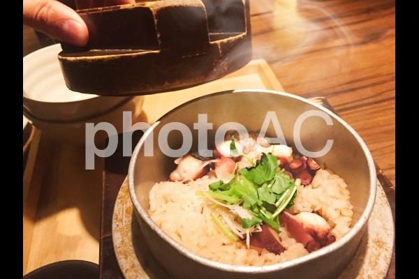 タコの釜飯#02の写真